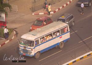 Yangon bus